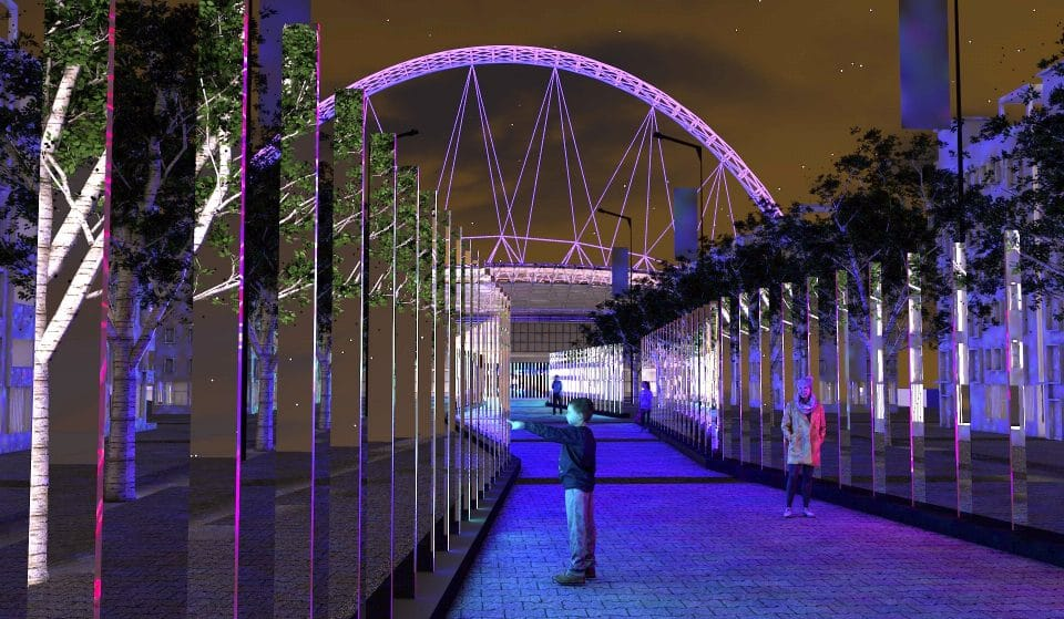 Wembley Park's Magical Winter Light Festival Has Been Postponed To 2021
