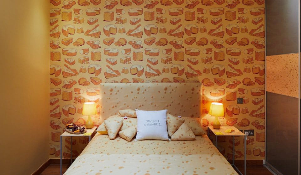 The World's First Cheese-Themed Hotel Has Opened In London
