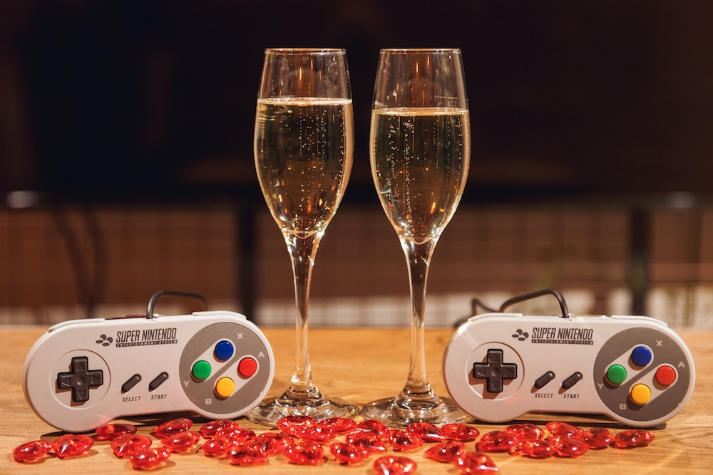 Level Up Your Valentine's Day At This Incredible Retro Gaming Bar