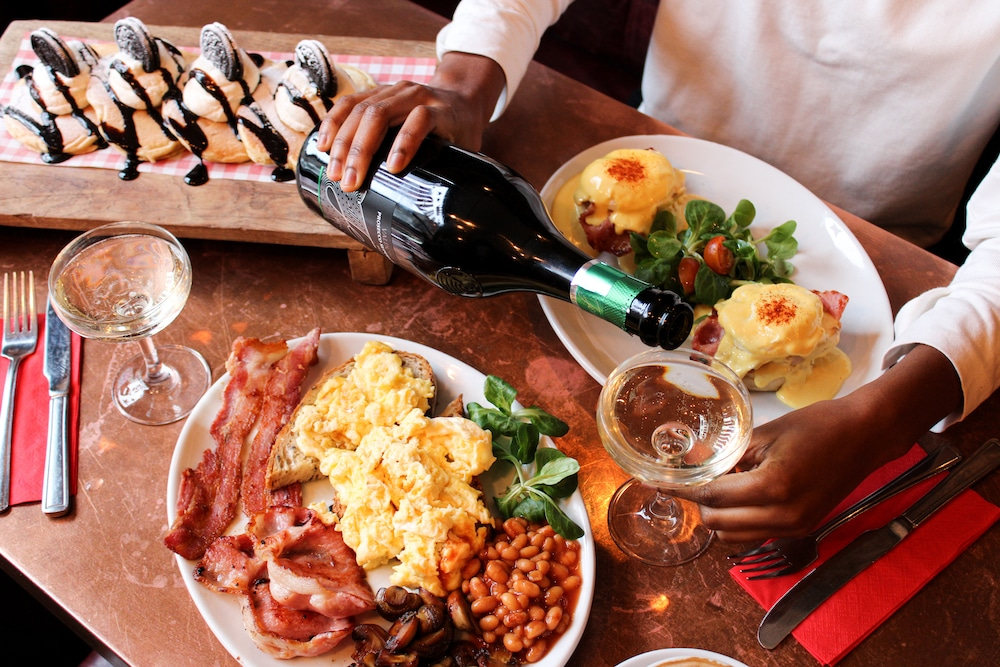 This Liverpool Street Café Offers A 24-Hour Bottomless Brunch