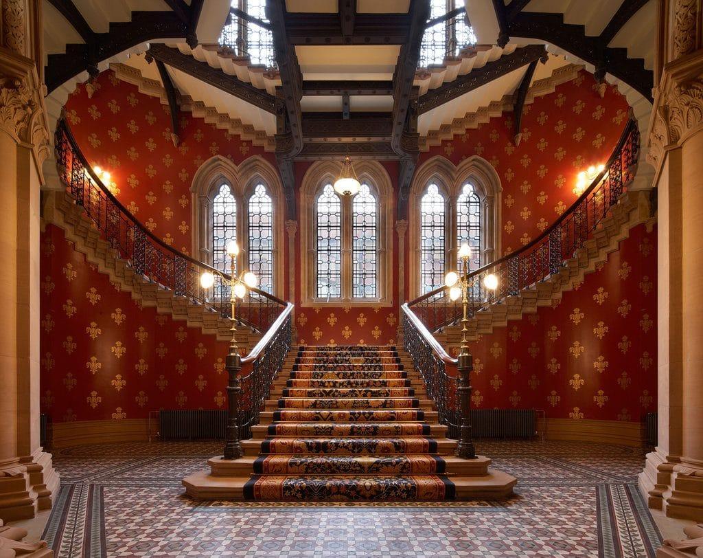 St Pancras stairs