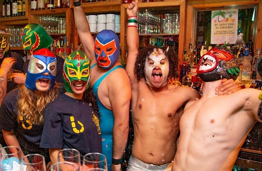 This Wacky Mexican Brunch Serves Bottomless Margaritas And Burritos