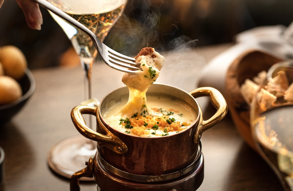 This Alpine-Themed Brunch Serves Bottomless Champagne And Fondue