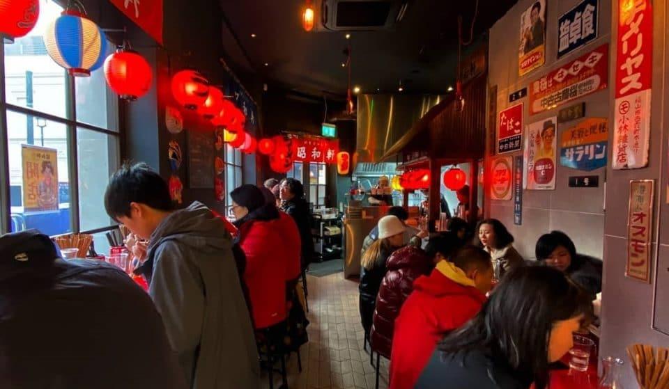 A Retro Ramen Bar Has Opened Inside London's Japanese Food Hall
