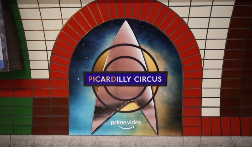 Piccadilly Circus Has Had A Star Trek-Themed Rebrand