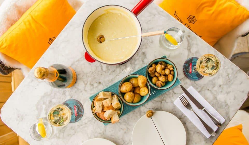 This Trafalgar Square Rooftop Is Serving Vegan Cheese Fondue