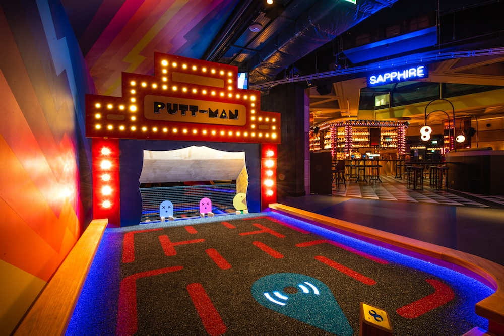 Enjoy A Game Of Mini Golf And Live Music At This Incredible Underground Course