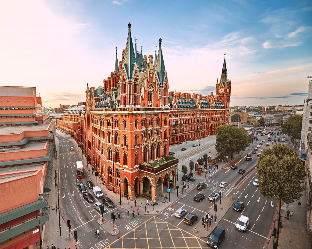St Pancras Has Been Named As Europe's Best Train Station