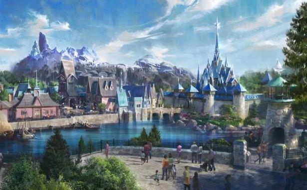 A Magical 'Frozen' Land Is Set To Open At Disneyland Paris