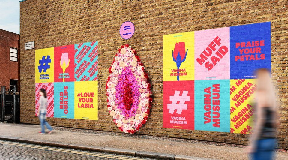 A Giant Vagina Made Of Roses Is Coming To Camden, And It's The Valentine's Treat We Needed
