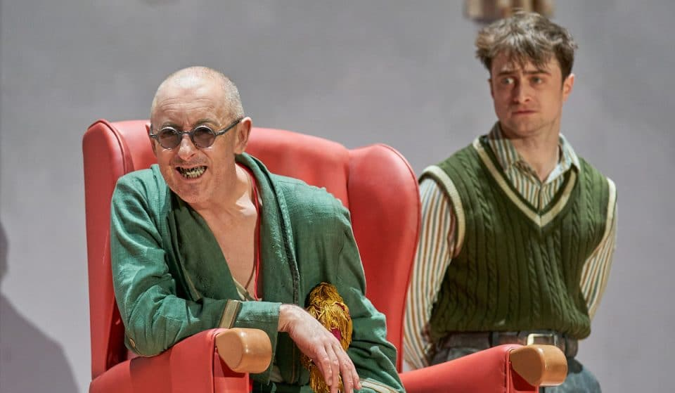 Daniel Radcliffe And Alan Cumming Are The Perfect Double Act In Endgame