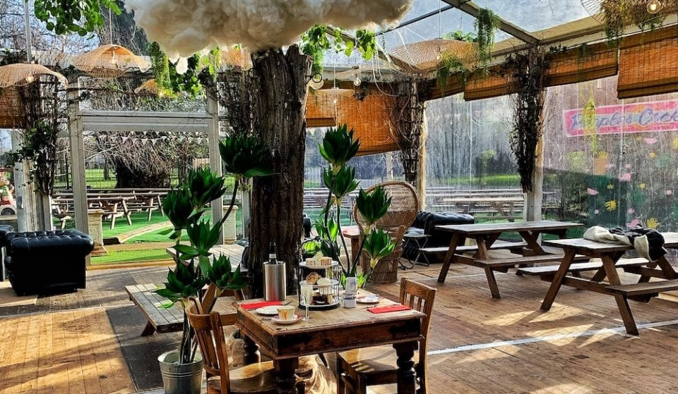 Escape Reality With This Dreamy Woodland Afternoon Tea