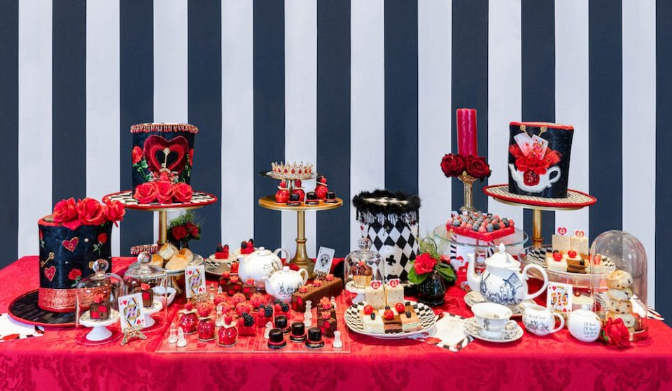 Fall Down The Rabbit Hole And Enjoy This Alice In Wonderland-Inspired Afternoon Tea