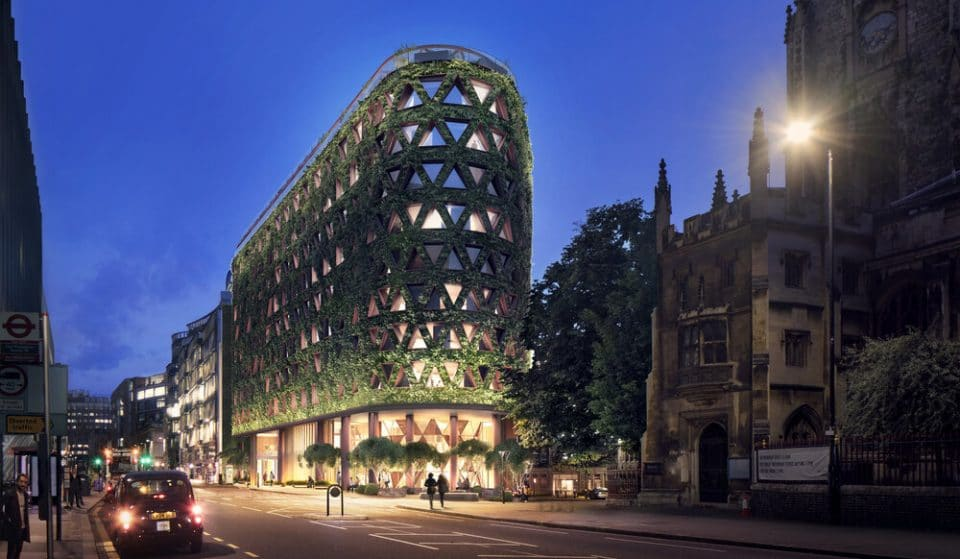 An Eco-Friendly Building With Europe's Largest 'Living Wall' Is Coming To London