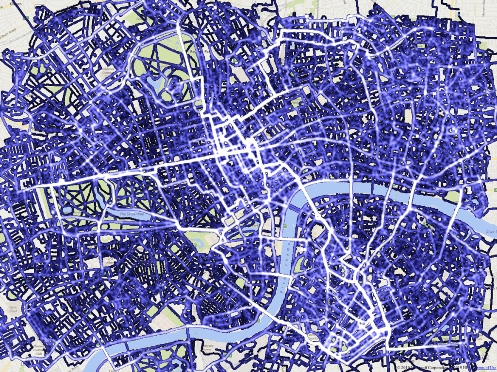 This Man Cycled Every Single Street In Central London
