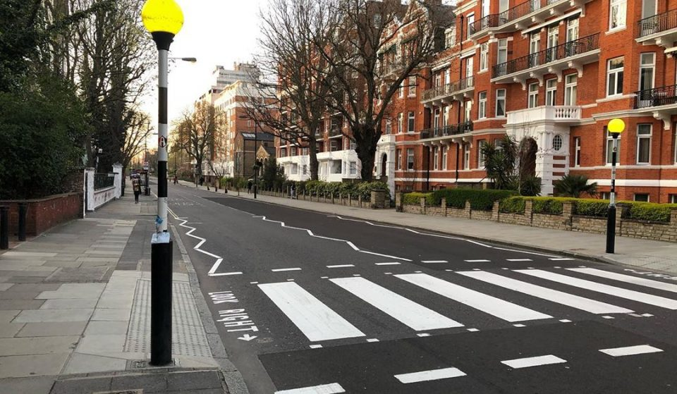 The Famous Abbey Road Crossing Has Been Repainted Now That The Streets Are Quiet