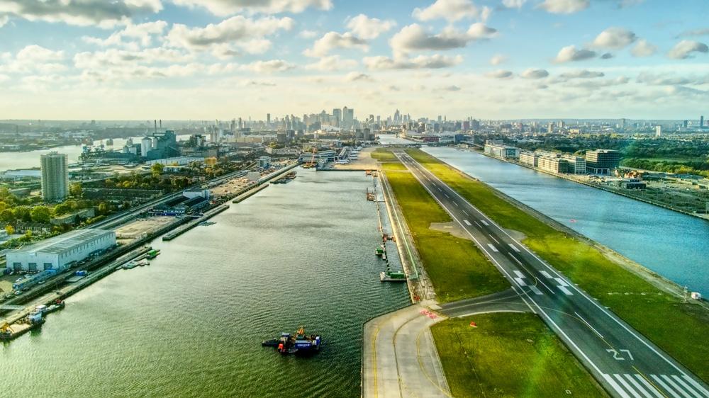 London City Airport closure
