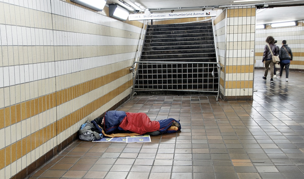 London's Rough Sleepers Are Being Offered Hotel Rooms To Protect Them Against Coronavirus