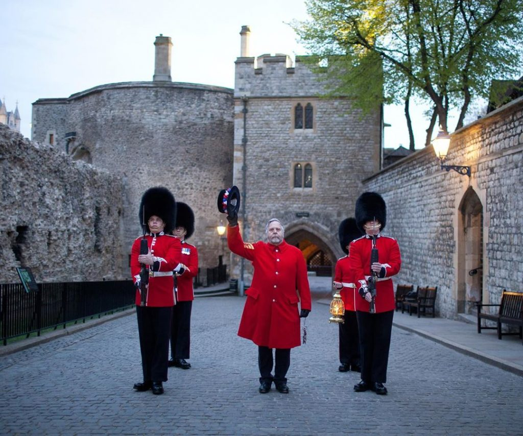 Tower of London closing