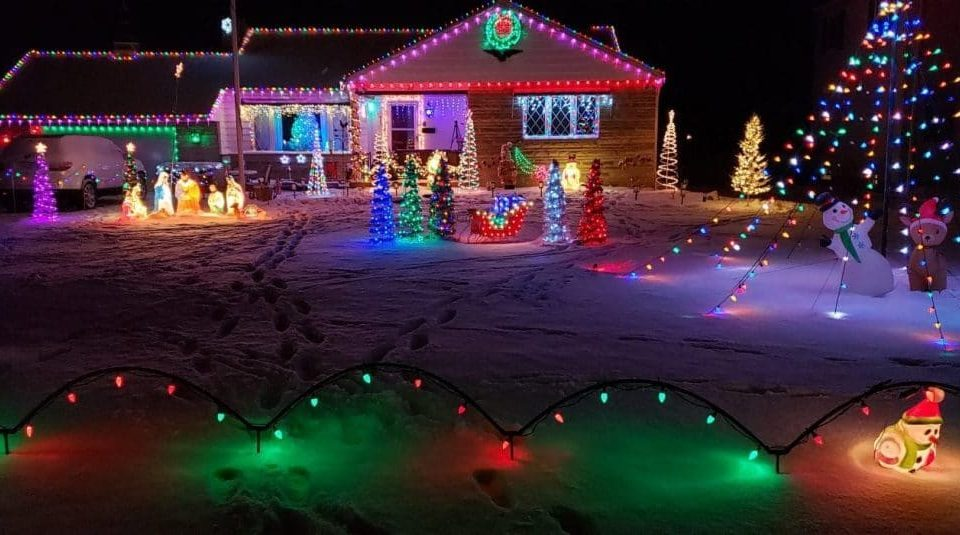 Americans Are Putting Their Christmas Lights Back Up To Brighten Spirits