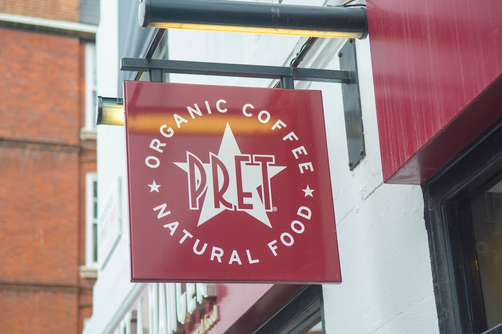 Pret A Manger Is Offering Free Drinks And 50% Off Food For NHS Workers