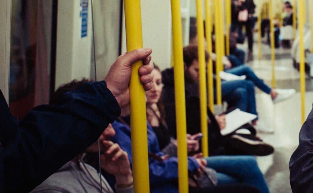 Coronavirus public transport surfaces