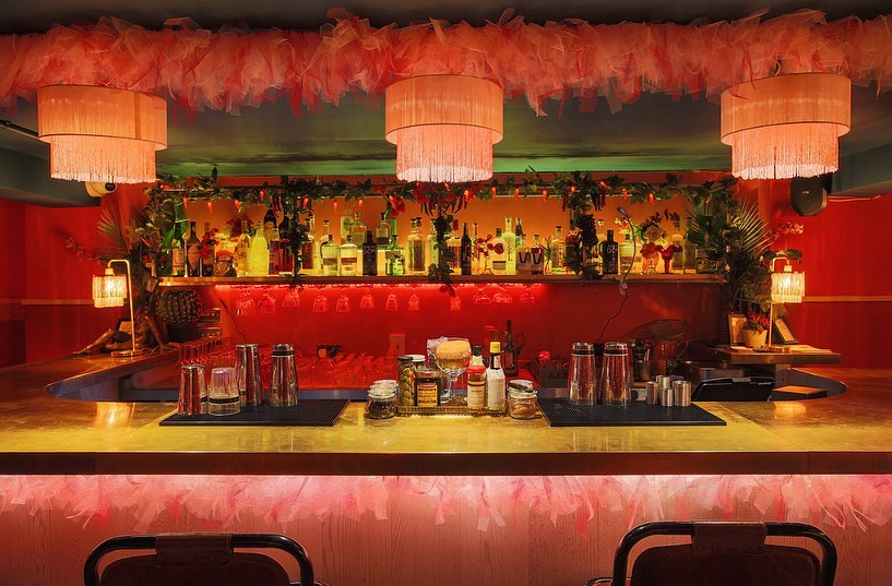 London's Hot Pink Basement Mezcal Bar Is Your New Favourite Late-Night Spot • Doña
