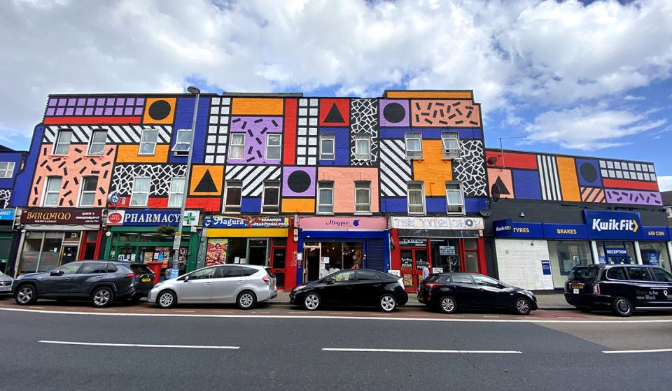 This London Street Has Had An Insanely Colourful Makeover