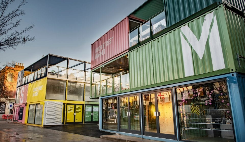 Camden's Swish New Shipping Container Market Is Opening This Month
