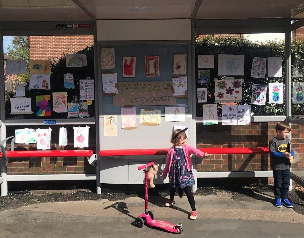 Bus stop gallery