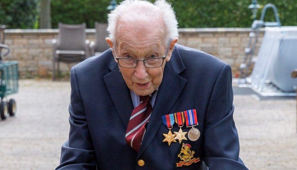 Captain Tom Moore Has Won A Pride Of Britain Award For His Incredible NHS Fundraiser