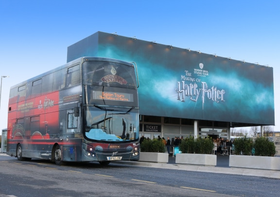 Harry Potter Buses From Warner Bros. Studio Tour Are Being Used As Free NHS Transport