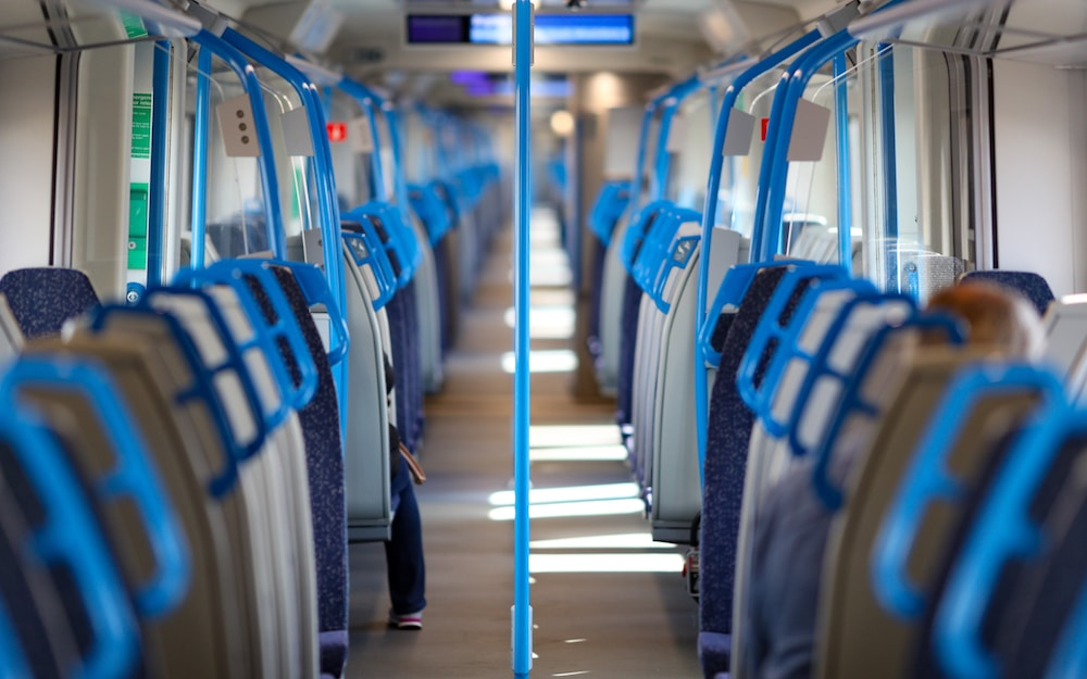 """London Trains Are Being Cleaned With Powerful """"Viruscide"""" That Disinfects For A Month"""