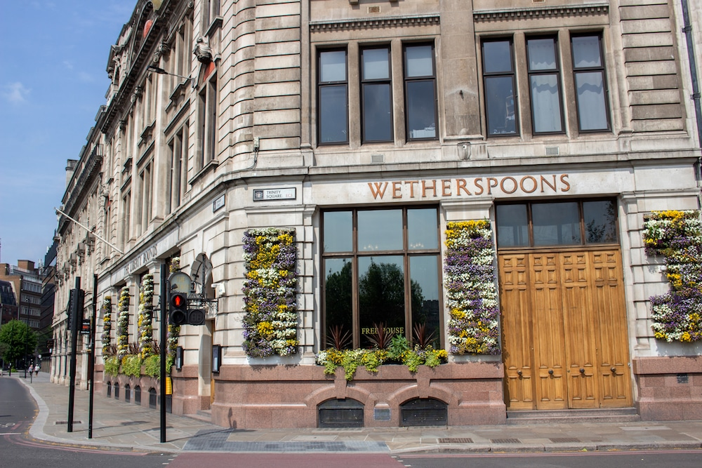 Wetherspoons Reveals Plan To Reopen 875 Pubs Across The UK