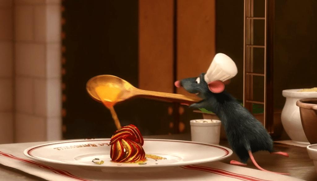 pixar cooking channel