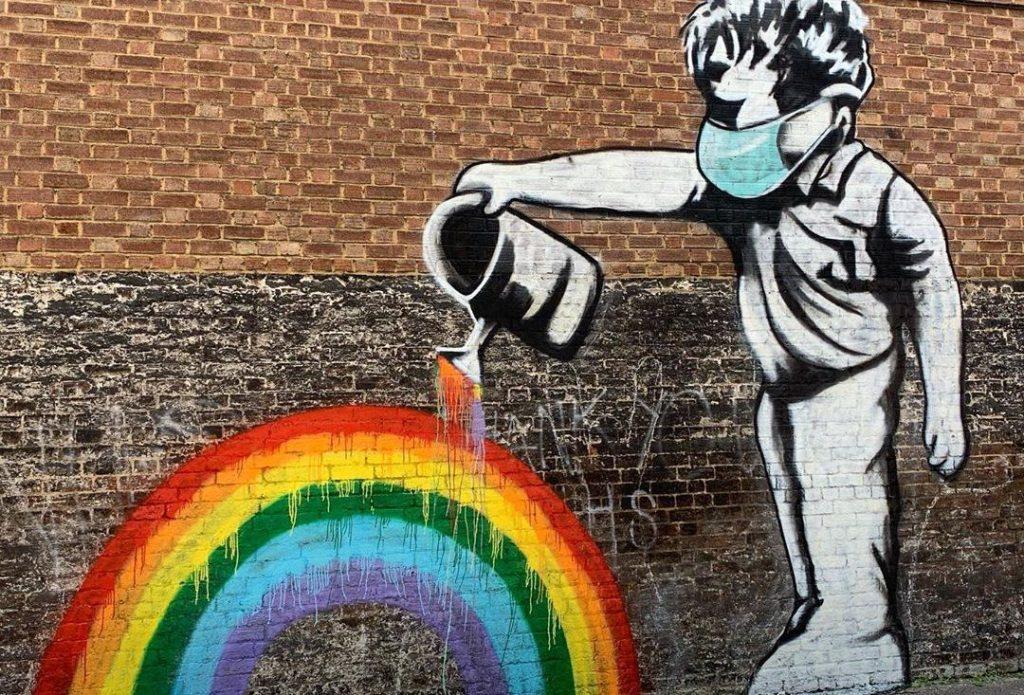 17 Powerful Coronavirus-Inspired Street Art Murals In London