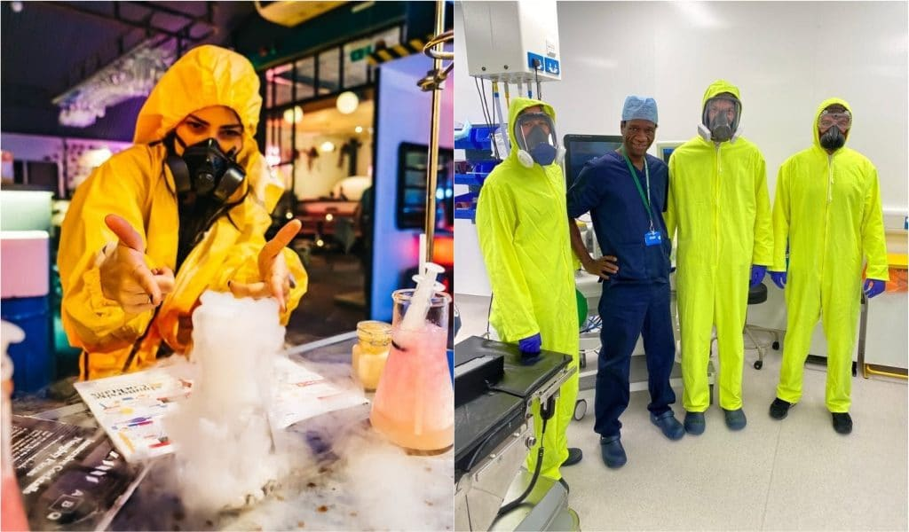 London's Breaking Bad-Inspired Cocktail Bar Donates Hazmat Suits To NHS