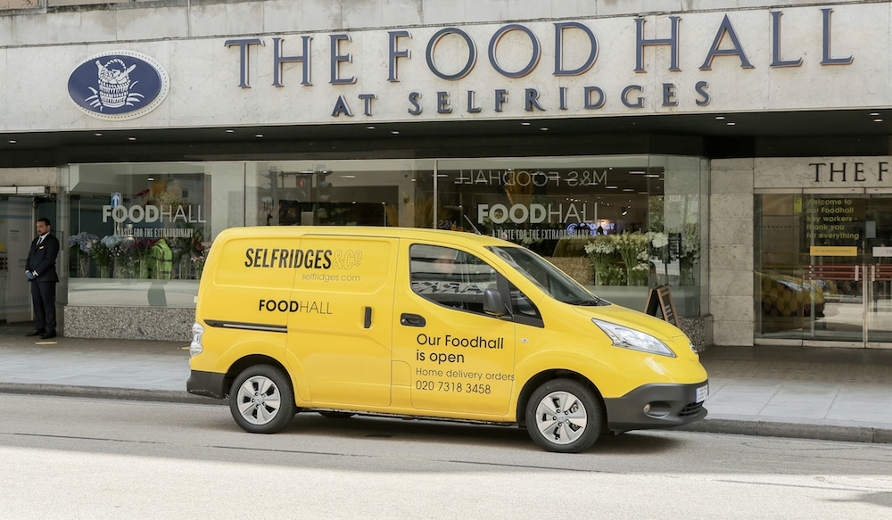 Selfridges London Foodhall Reopens Today To Offer Essential Items To Local Community