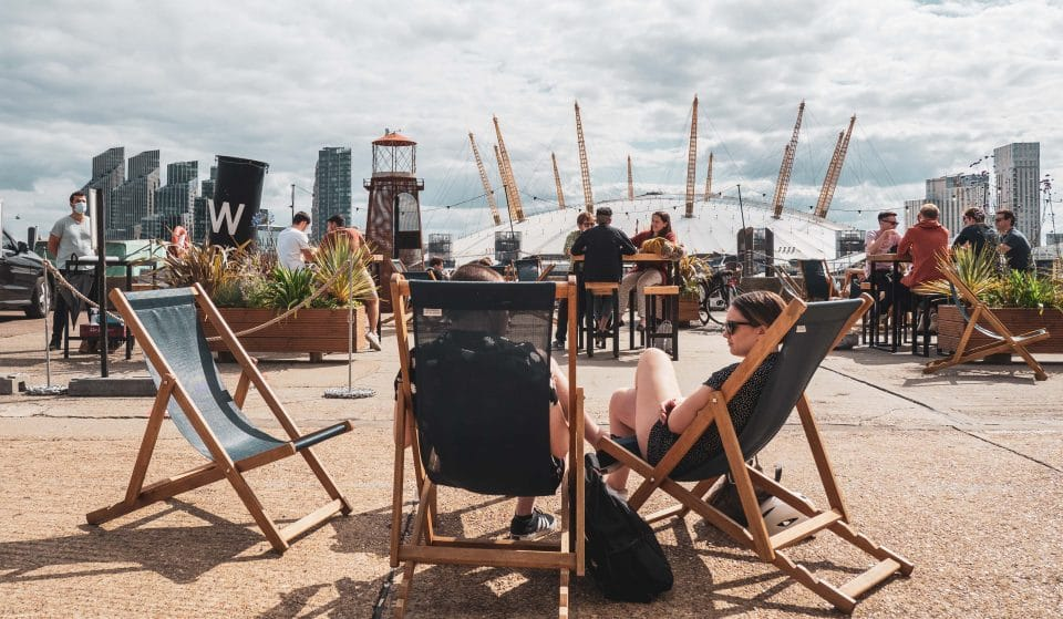 A Sunny Riverside Bar Is Opening Opposite The O2 Arena This April