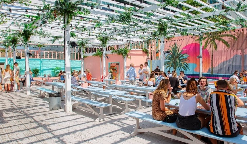 London's Epic Street Food Pergola Is Perfect For Sunlit Evenings This Summer