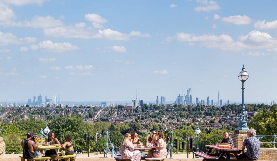 Alexandra Palace Is Home To A Huge Beer Garden With Panoramic Views Over London