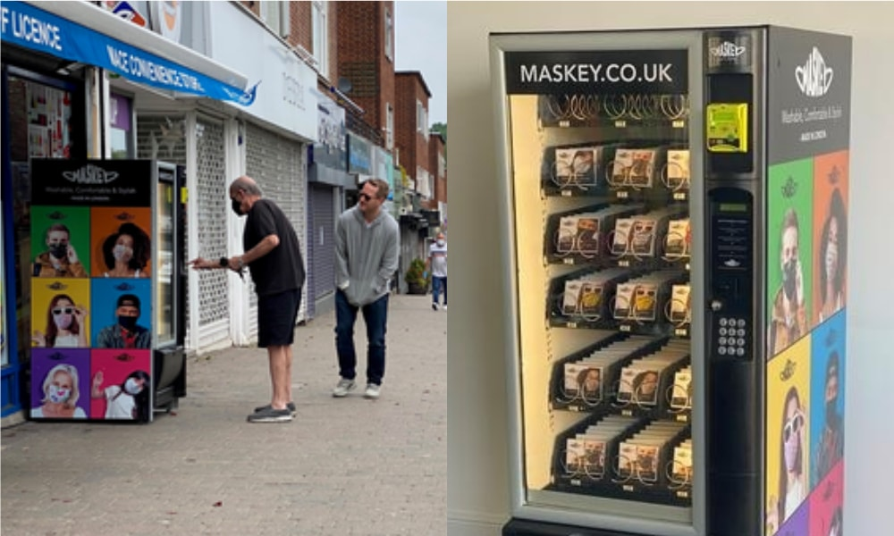 Face Mask Vending Machines Are Now A Thing—And You'll Find Them In London