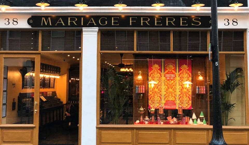 Covent Garden Tea Emporium Mariage Frères Has Reopened Its Doors For Takeaway