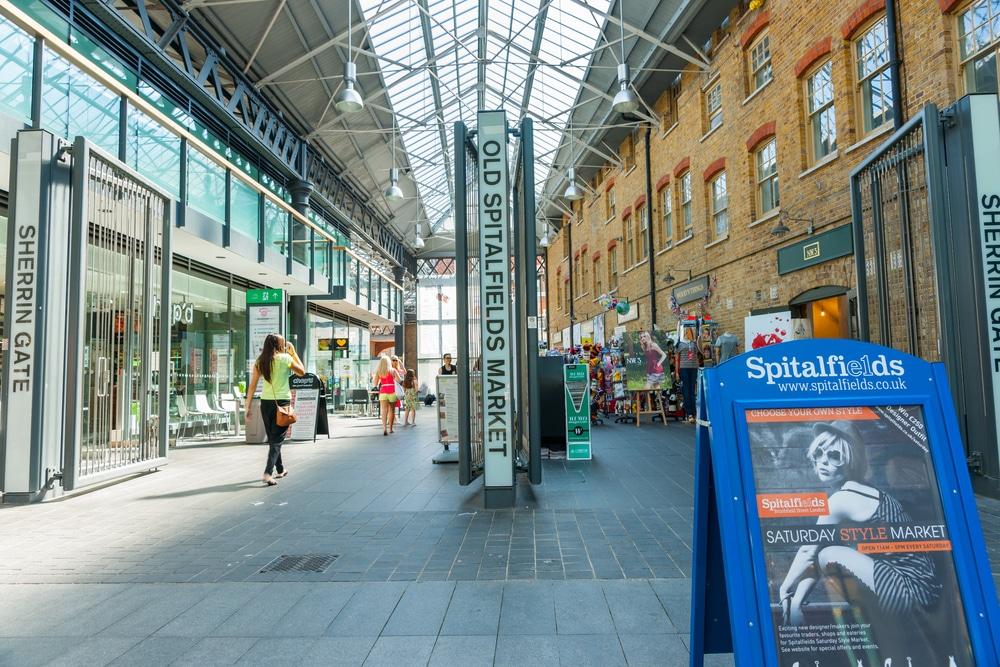 Spitalfields Market reopening