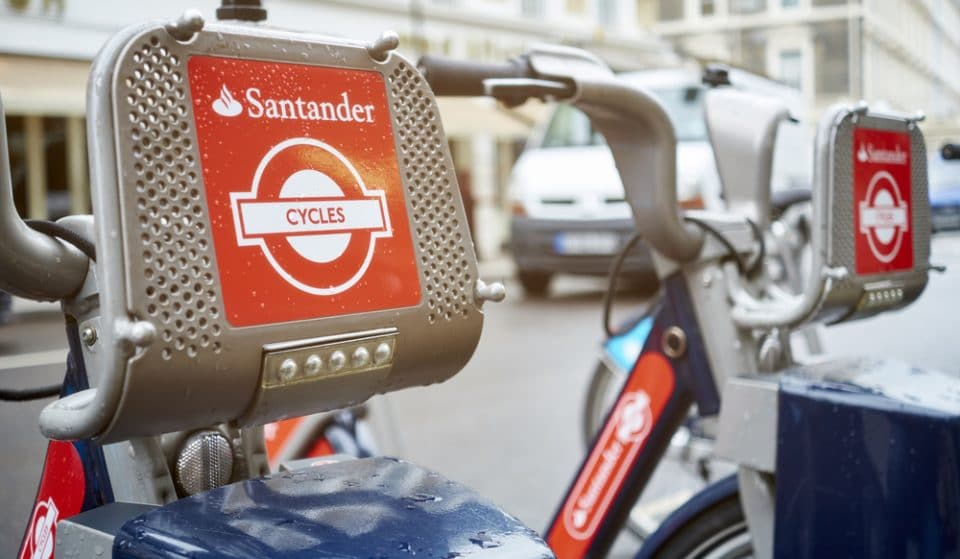Santander To Launch E-Bikes In London As Cycle Scheme Extends Until 2025