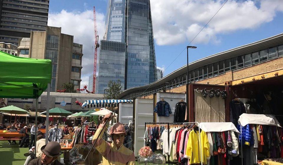 London Bridge's Beloved Vintage Market Will Reopen This Saturday