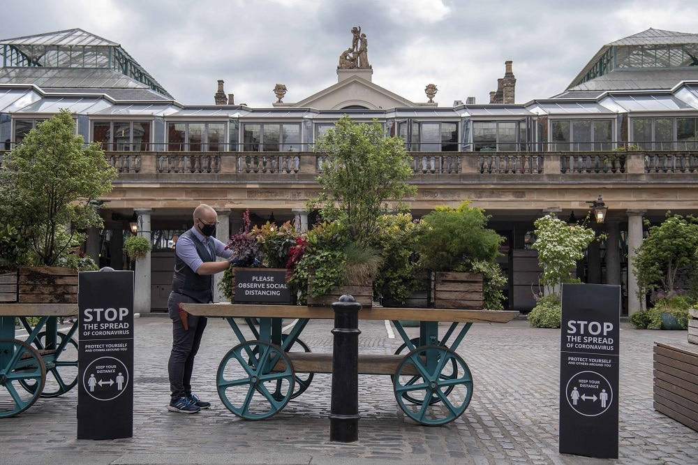 Covent Garden reopening