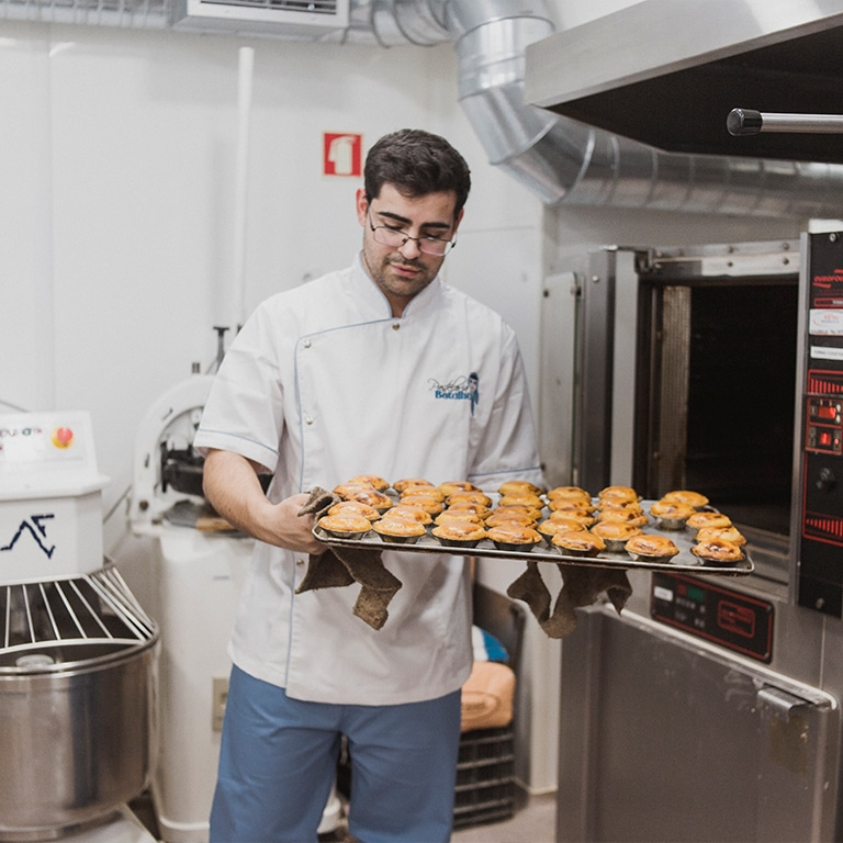 Custard tart workshop