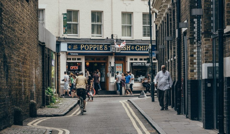 London's Famous 'Poppies' Has Reopened For All Your Takeaway Fish And Chips Needs