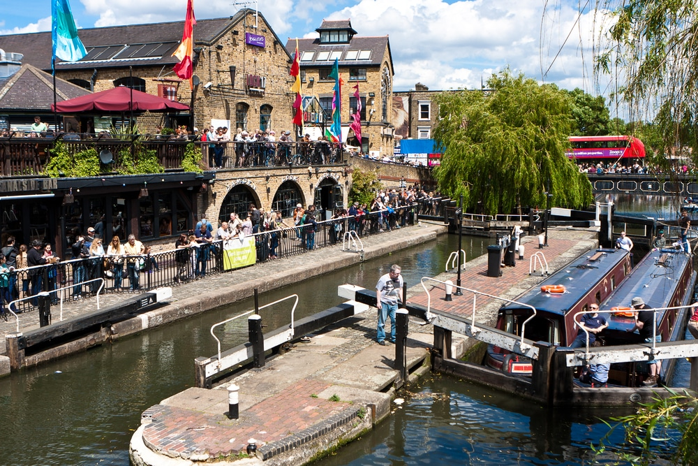 Camden Market Reopened To The Public Today